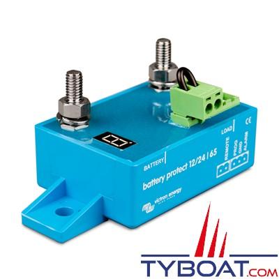 VICTRON ENERGY - Protection pour batterie - Battery Protect BP-65 - 12 / 24 Volts 65 Ampères.