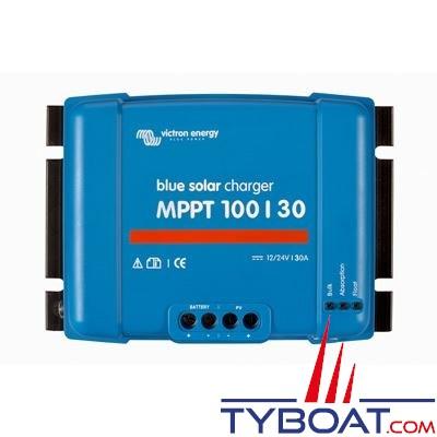 VICTRON ENERGY - Régulateur pour panneaux solaires - BlueSolar MPPT 100/30 12/24 Volts 30 Ampères.