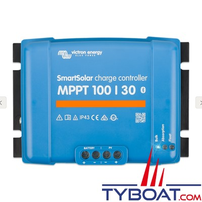 Victron Energy - Régulateur pour panneaux solaires - SmartSolar MPPT 100/30 12/24 Volts 30 Ampères.