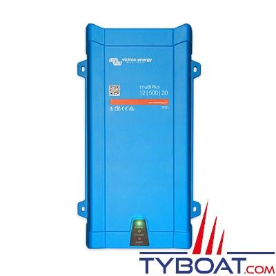 VICTRON - Chargeur - Convertisseur Multiplus 12 Volts 1200VA (1000 Watts) 50 Ampères 230 Volts commutateur de transfert 16A