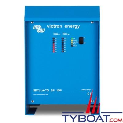 VICTRON - Chargeur de batterie Skylla-TG 24 Volts 50 Ampères (1+1) 185-264 Vac / 45-65Hz