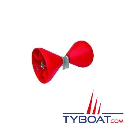 2 cônes PN 090 rouges montés sur balancier