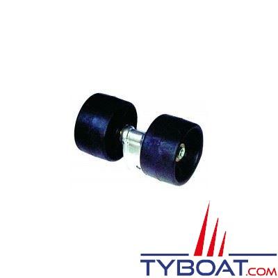 2 galets montés sur balancier Ø 120 mm
