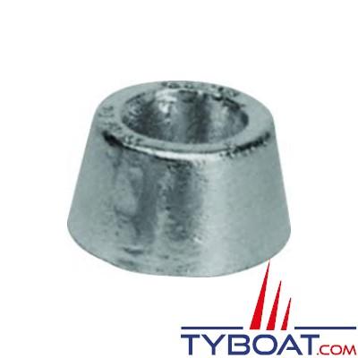 Anode aluminium Hydral2 à boulonner Ø80mm sans insert