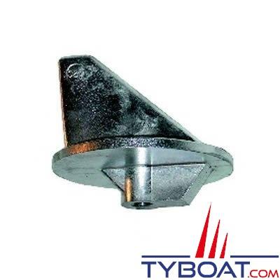 Anode dérive courte pour Honda 75/90/115/130cv et Mercury / Mariner 135 à 200 cv embase alpha MR/1 - zinc
