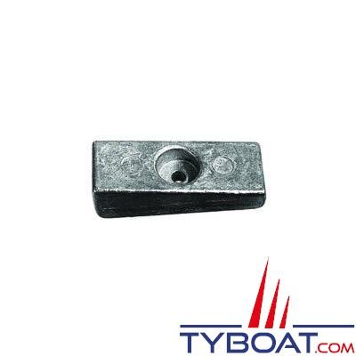 Anode plaque pour Honda 70/90/115/130/135/150/200 cv et Mercury/Mariner 70 à 200 cv et 30 à 115 cv 4T (la paire) - zinc