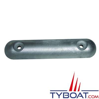Anode zinc à boulonner 300x65mm - entraxe 200mm 3Kg