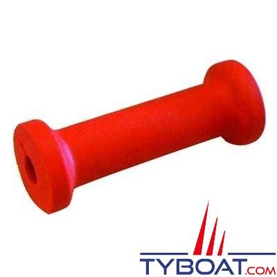 Diabolo  grand modèle 040 rouge L 200 x Ø 75/50 mm - alésage Ø 22mm