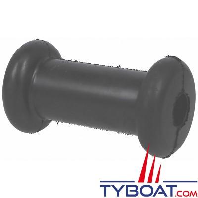 Diabolo mini  030 noir L 130 x Ø 70/45 mm - alésage Ø 22mm