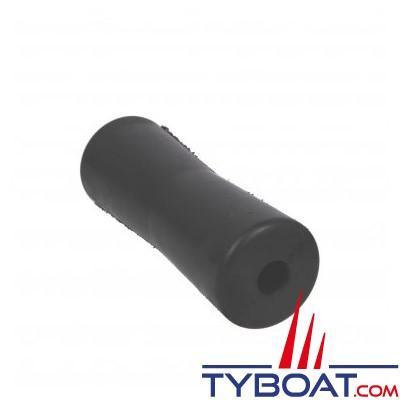 Diabolo petit modèle 050 noir L 200 x Ø 70/60 mm - alésage Ø 22mm