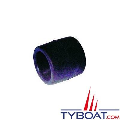 Galet petit modèle noir L 75 x Ø 75 mm alésage Ø 22mm