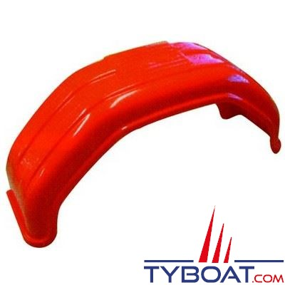 Garde-boue polyéthylène 790 x 228 x 380 mm pour roue 14