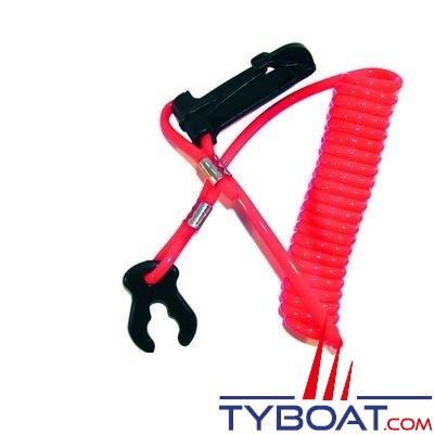 Pince et cordon coupe-circuit pour moteur hors bord Tohatsu