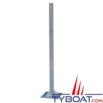 Poteau pour coffre de bouée couronne standard Ø 75cm