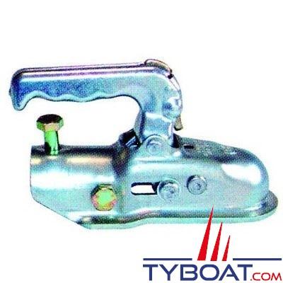 Tête d'attelage tôle pour tube Ø 45 mm PTC 2200 Kg
