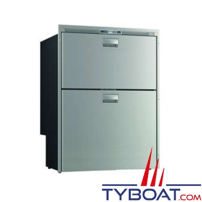 VITRIFRIGO - Réfrigérateur et congélateur SeaDrawer DW210 - DTX - Double tiroirs - 12/24 Volts