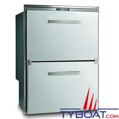 VITRIFRIGO - Réfrigérateur SeaDrawer DW180 - RFX - Double tiroirs - 12/24 Volts