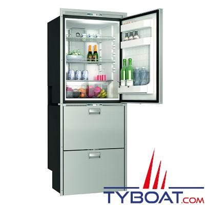 Vitrifrigo - Réfrigérateur SeaDrawer DW360 - BTX - 2 tiroirs 1 porte - 2 congélateurs 1 réfrigérateurs - 12/24 Volts