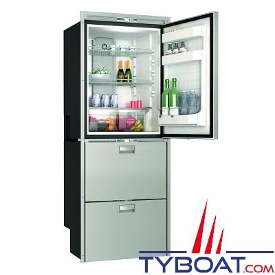 Vitrifrigo - Réfrigérateur SeaDrawer DW360 - DTX - 2 tiroirs 1 porte - 2 réfrigérateurs 1 congélateur - 12/24 Volts