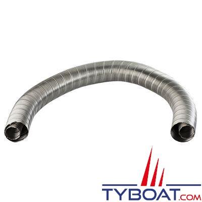 Wallas - Conduit d'échappement inox flexible 2448 - Ø28/45mm - au mètre