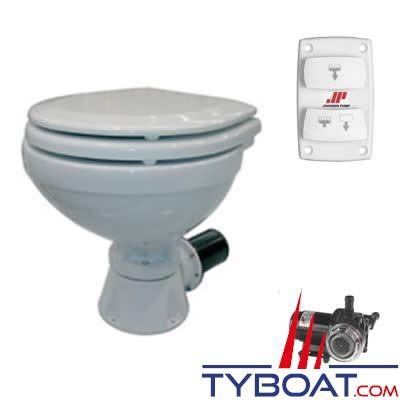 WC électrique Johnson Pump Silent Compact 80-47231-01 - 12v