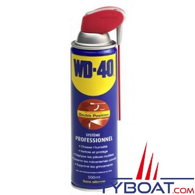 WD40 - Dégrippant aérosol 500ml