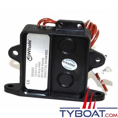Whale - Contacteur électronique pour pompe de cale Orca et Supersub - BE9003B