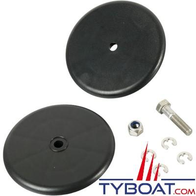 WHALE - Kit plaques de serrage de membrane pour pompe de cale manuelle Gusher Titan - AS4412