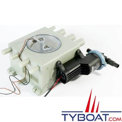 WHALE - Kit réservoir eaux usées + pompe Gulper 220 - 12V