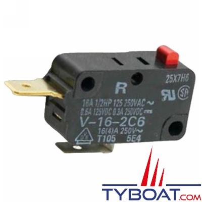 WHALE - Micro interrupteur de remplacement pour pompe eau douce