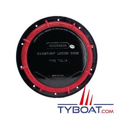 WHALE - Trappe verrouillable étanche TCL-4 noire - LD4000