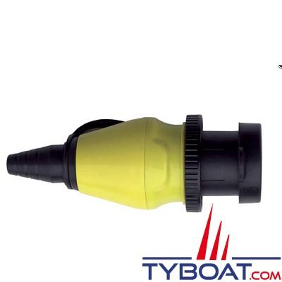 Whisper Power - Boitier prise de quai 32a/250v 2 poles - 3 fils