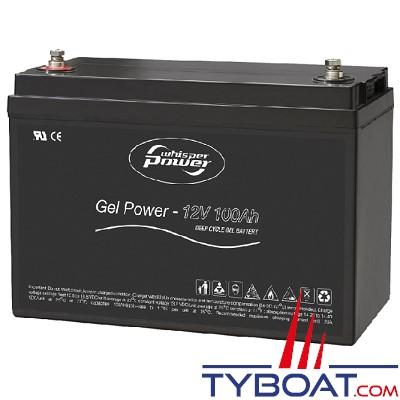 WhisperPower - Batterie gel 12 Volts 100 Ampères