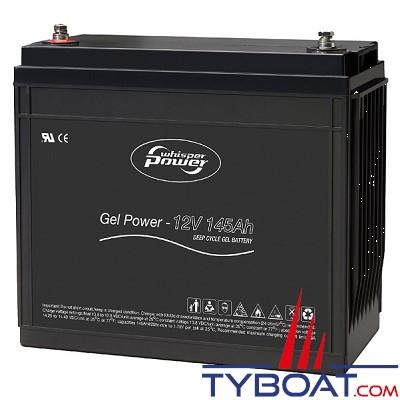 WhisperPower - Batterie gel 12 Volts 145 Ampères