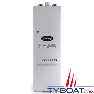 WhisperPower - Batterie gel 2V - 440 Ampères