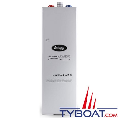 WhisperPower - Batterie gel 2V - 525 Ampères