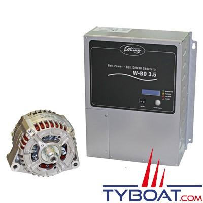 Whisperpower - Générateur Beltpower CA W-BD 3.5 - 230 Volts 3500 Watts