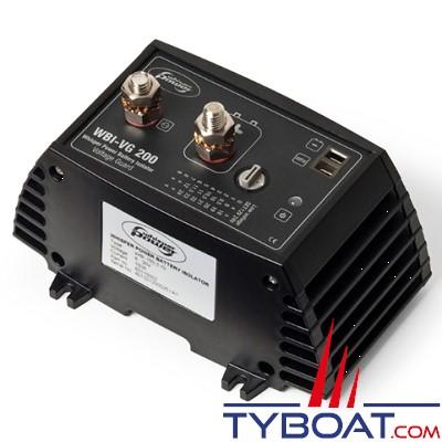 WhisperPower - Protecteur de batterie WVG-200- 12/24 Volts - 200 Ampères