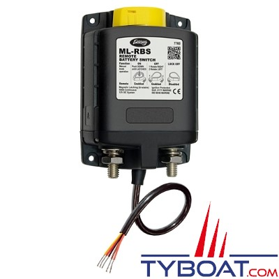 WhisperPower - relais de charge ML-RBS bistable ACR - 12 volts