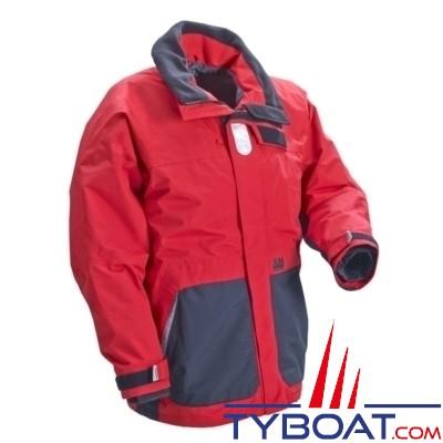 XM Yachting - Veste de quart Coastal Taille XXL Rouge/noir