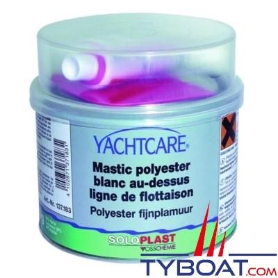 Yachtcare - Mastic de finition blanc au-dessous de la ligne de flottaison 0.5kg