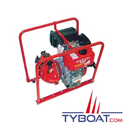 YANMAR - Motopompe Diesel 18m3/heure - Haute pression - Double turbine -
