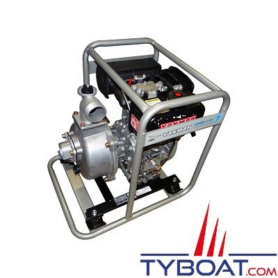 YANMAR - Motopompe Diesel 33m3/heure - Pompe centrifuge auto-amorçante - 550 litres minute