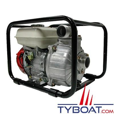 YANMAR - Motopompe Essence - 35m3/heure - Pompe centrifuge auto-amorçante - Corps de pompe en aluminium - 500 litres minute