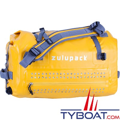 Zulupack - Sac étanche Bornéo - Jaune - 45 litres