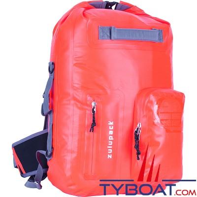 Zulupack - Sac étanche Nomad - Orange - 35 litres -