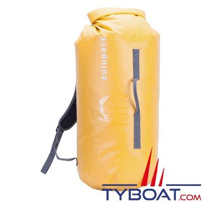 Zulupack - Sac étanche Tube - Jaune - 45 litres