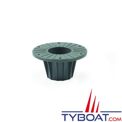 Zwaardvis - Embase flush en delrin ø230mm profondeur 200mm pour colonne ø76mm