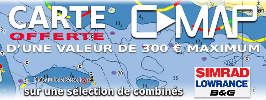 Carte C-MAP Wide N offerte jusqu'au 31 Mai 2017